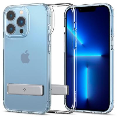 ETUI SPIGEN ULTRA HYBRID S do iPhone 13 Pro - kolor: Crystal Clear