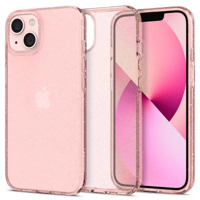 ETUI SPIGEN LIQUID CRYSTAL do iPhone 13 - kolor: Glitter Rose