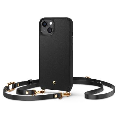 ETUI SPIGEN CYRILL CLASSIC CHARM DO IPHONE 13 - kolor: Black