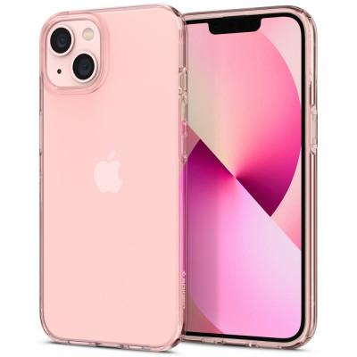 ETUI SPIGEN CRYSTAL FLEX do iPhone 13 - kolor: Rose Crystal