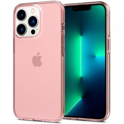 ETUI SPIGEN CRYSTAL FLEX do iPhone 13 PRO MAX - kolor: Rose Crystal
