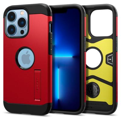ETUI SPIGEN  TOUGH ARMOR do iPhone 13 PRO - kolor: Red