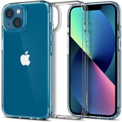 ETUI SPIGEN ULTRA HYBRID do iPhone 13 Mini - kolor: Crystal Crystal