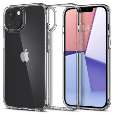 ETUI SPIGEN ULTRA HYBRID do iPhone 13 - kolor: Crystal Crystal