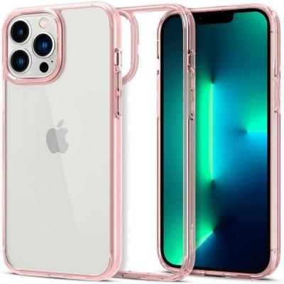 ETUI SPIGEN ULTRA HYBRID do iPhone 13 Pro MAX - kolor: Rose Crystal