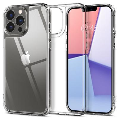 ETUI SPIGEN QUARTZ HYBRID do iPhone 13 Pro - kolor: Crystal Clear