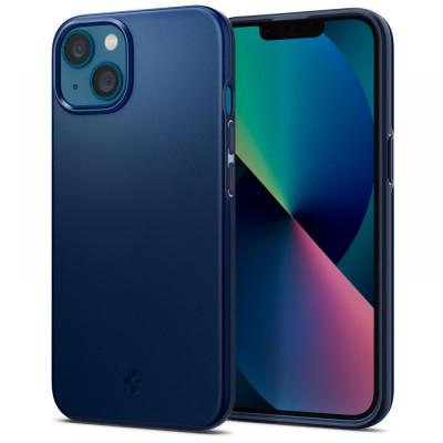 ETUI SPIGEN THIN FIT DO IPHONE 13 - kolor: Navy Blue