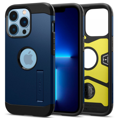 ETUI SPIGEN  TOUGH ARMOR do iPhone 13 PRO - kolor: Navy Blue