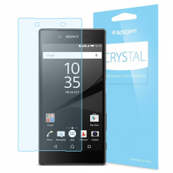 FOLIA SPIGEN Crystal do Sony Xperia Z5