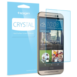 FOLIA SPIGEN Crystal do HTC M9 / M9 Prime Camera