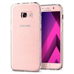 ETUI SPIGEN Liquid Crystal Glitter Samsung Galaxy A3 2017