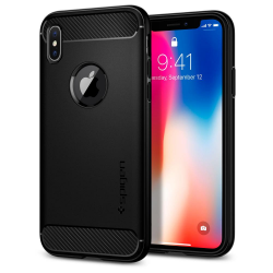 ETUI SPIGEN Rugged Armor do iPhone X