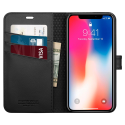 ETUI SPIGEN Wallet S do iPhone X