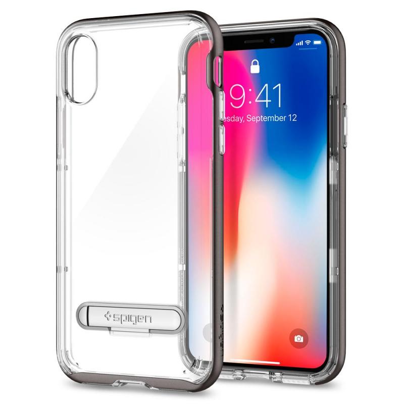 ETUI SPIGEN Crystal Hybrid do iPhone X