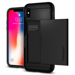 ETUI SPIGEN Crystal Wallet do iPhone X