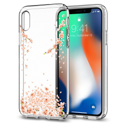 ETUI SPIGEN Liquid Crystal iPhone X